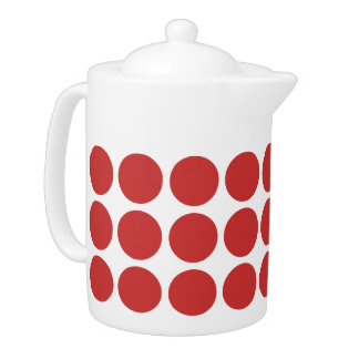 Mini Polka Dots Teapot