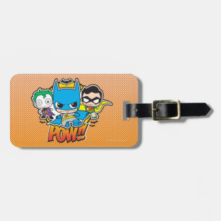 Mini Pow Luggage Tag