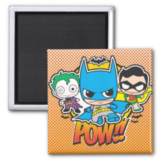 Mini Pow Square Magnet