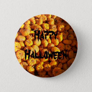 Mini Pumpkins 6 Cm Round Badge