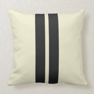 Mini Racing Stripes on ANY COLOR Background Cushion