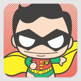 Mini Robin Square Sticker