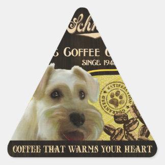 Mini Schnauzer Brand – Organic Coffee Company Stickers