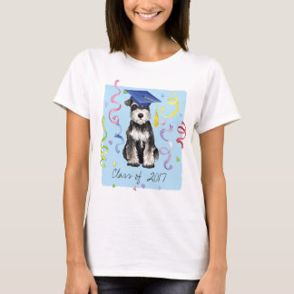 Mini Schnauzer Graduate T-Shirt
