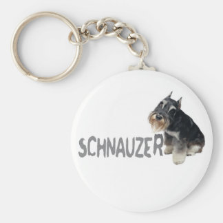 Mini Schnauzer Key Ring