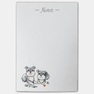 Mini Schnauzer Notepad