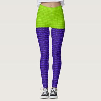 Mini-Skirt*-Lime_Purple-Tweed II(c)XS-XL_Leggings_ Leggings