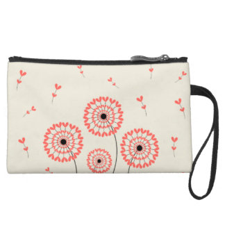 Mini stock market of Before Tooth of Leon Wristlet Purse