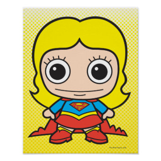 Mini Supergirl Poster