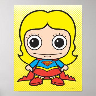 Mini Supergirl Poster