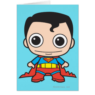 Mini Superman Card