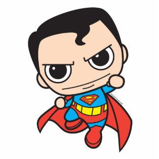 Mini Superman Flying Standing Photo Sculpture