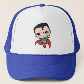 Mini Superman Flying Trucker Hat