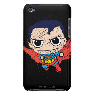Mini Superman Sketch Barely There iPod Covers