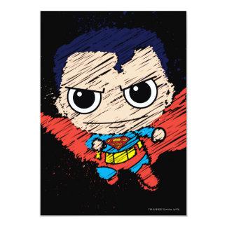 Mini Superman Sketch Card