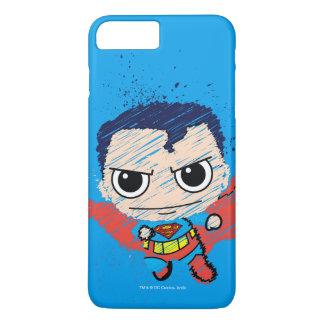 Mini Superman Sketch iPhone 8 Plus/7 Plus Case