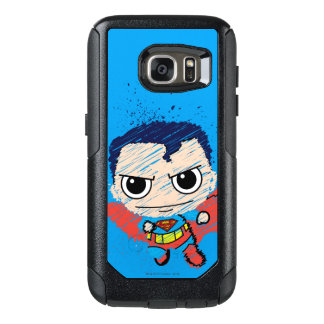 Mini Superman Sketch OtterBox Samsung Galaxy S7 Case