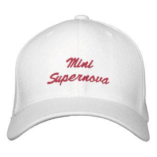 Mini Supernova Embroidered Baseball Caps