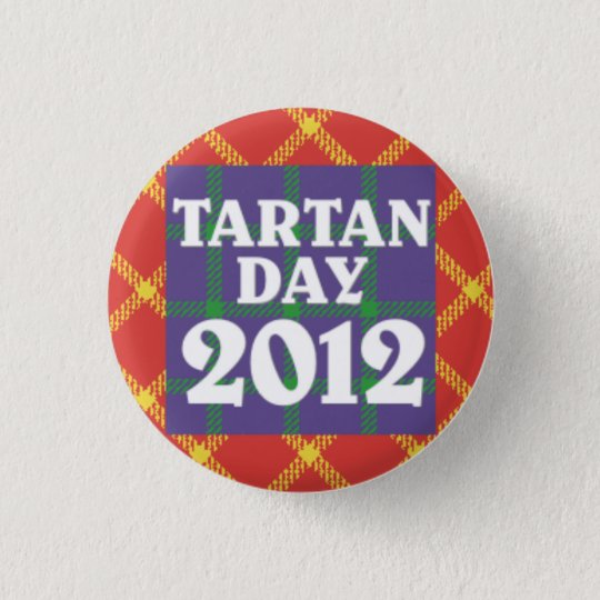 Mini Tartan Day 2012 Button