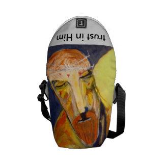 mini tote bag, Bible case Messenger Bag