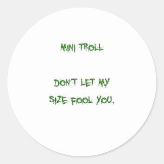 mini troll stickers