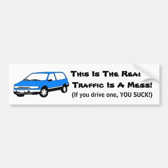 Mini Van Bumper Sticker