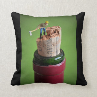 MINI - wine cork Cushion