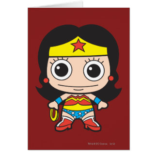 Mini Wonder Woman Card