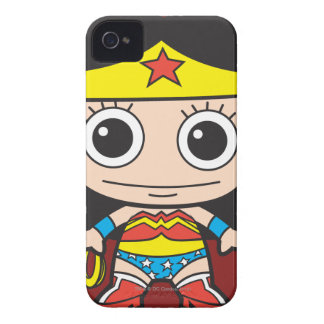 Mini Wonder Woman iPhone 4 Case