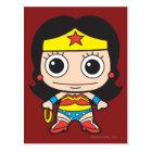 Mini Wonder Woman Postcard