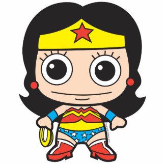 Mini Wonder Woman Standing Photo Sculpture