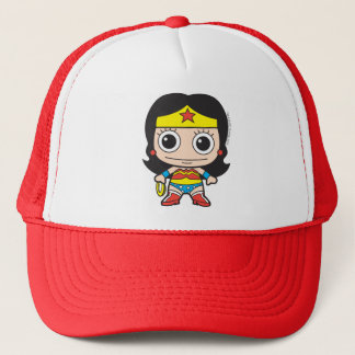 Mini Wonder Woman Trucker Hat