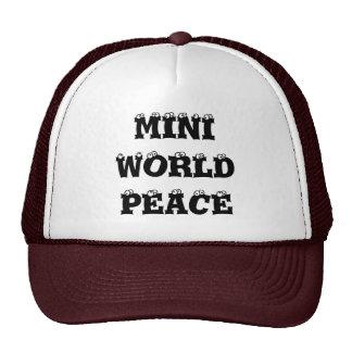 Mini World Peace Trucker Hat