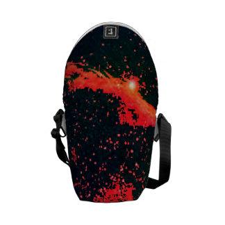 Mini Zero - 'splash galaxy' Messenger Bags