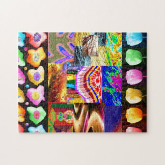 Miniature ART Collage : Ideal GIFT Collection Puzzle