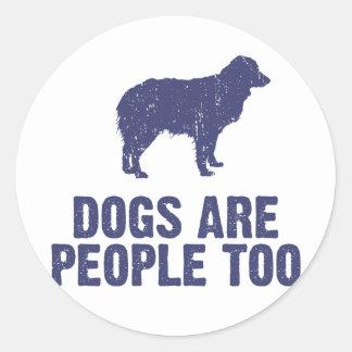 Miniature Australian Shepherd Classic Round Sticker