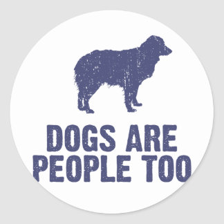 Miniature Australian Shepherd Round Sticker