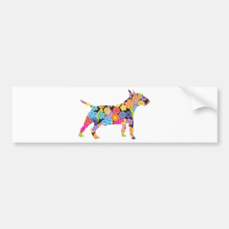 Miniature Bull Terrier Bumper Sticker