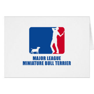 Miniature Bull Terrier Cards