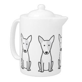 Miniature Bull Terrier Dog Cartoon