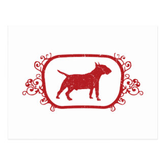 Miniature Bull Terrier Postcard