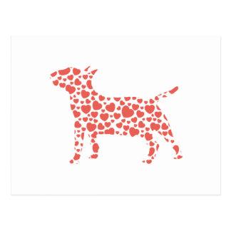 Miniature Bull Terrier Post Cards