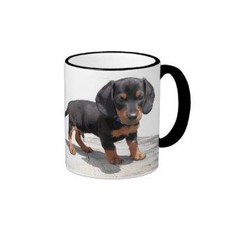 Miniature Dachshund Ringer Coffee Mug