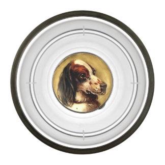 MINIATURE DOG PORTRAITS Tri-colour English Setter