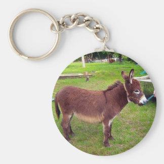 Miniature Donkey Keychain