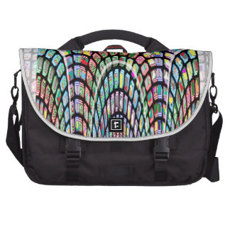 Miniature FineArt Abstract Wave Pattern on gifts Laptop Bags