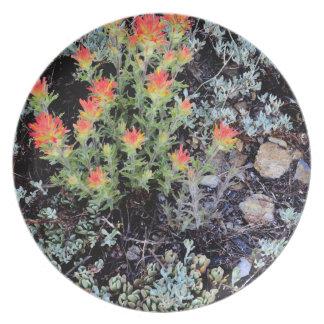 Miniature Garden at Gem Lake Plate