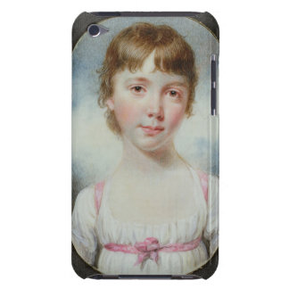 Miniature of a young girl iPod touch Case-Mate case