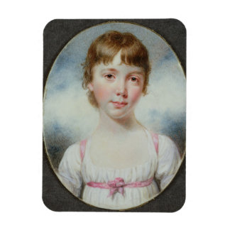 Miniature of a young girl magnets
