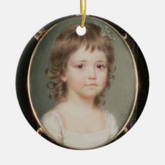 Miniature of Dorothy Capper Round Ceramic Decoration